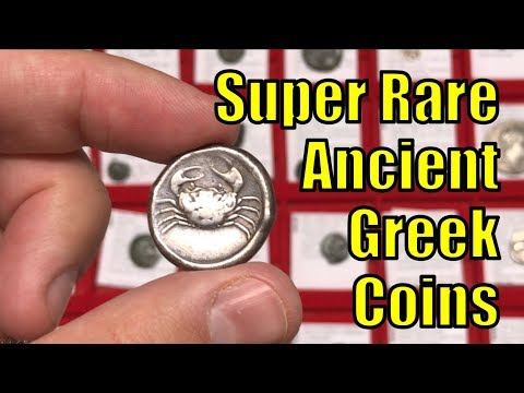 RARE Authentic Ancient GREEK Coins from circa 500-100BC Collection and Collecting Guide