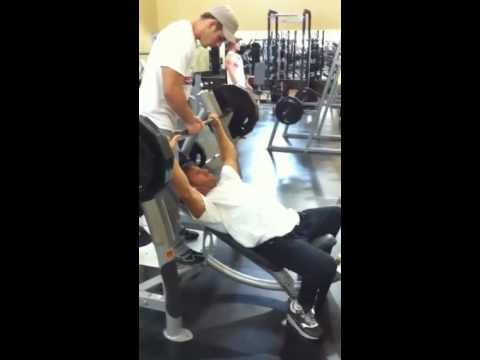 Justin draper 295 Incline Bench