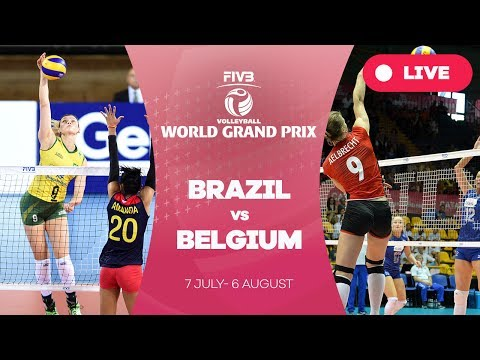 Brazil v Belgium - Group 1: 2017 FIVB Volleyball World Grand Prix