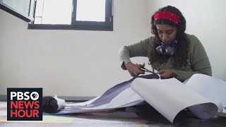 This Paris program helps refugees tell their stories through art