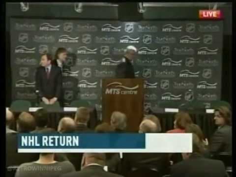 CBC News Special Report - The return of the Winnipeg Jets (May 31, 2011)
