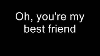 queen you re my best friend lyrics