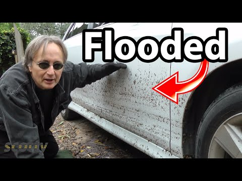 How to Save a Flooded Car (Life Hack)