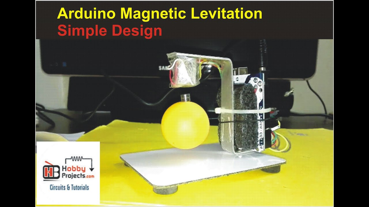 How To Make Arduino Magnetic Levitation - Simple Design