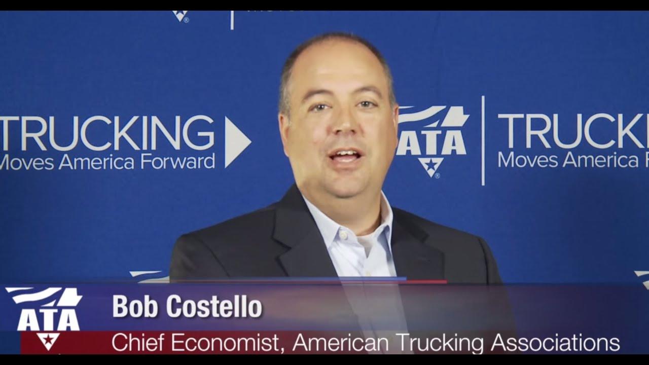 Ata S Bob Costello Debuts 2015 American Trucking Trends