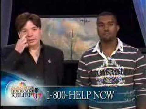 Kanye West Hurricane Katrina Funding