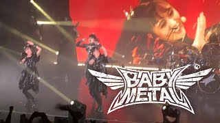 """BabyMetal performs """"PA-PA-YA!!"""" live at the Marquee Theater in Temp..."""