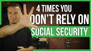 4 people that shouldn't rely on social security benefits.   FinTips