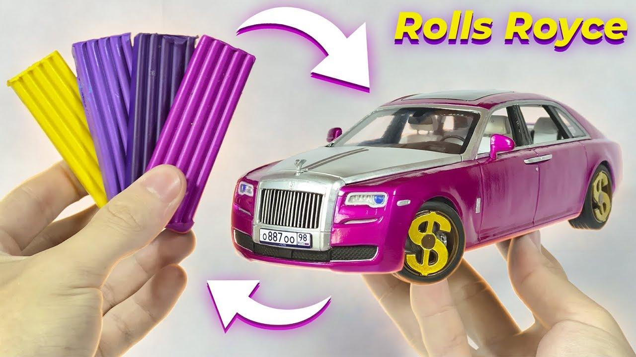 Превращение пластилина в машину, Rolls Royce, 168 часов работы за 16 минут