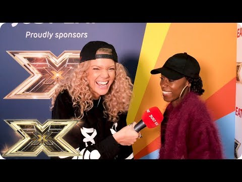 Exclusive interview with Shan Ako from The X Factor-Just Eat's Backstage Bites 2018 | Episode 6