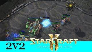 Der Overlord schaut zu - Starcraft 2: Legacy of the Void 2v2 [Deutsch | German]