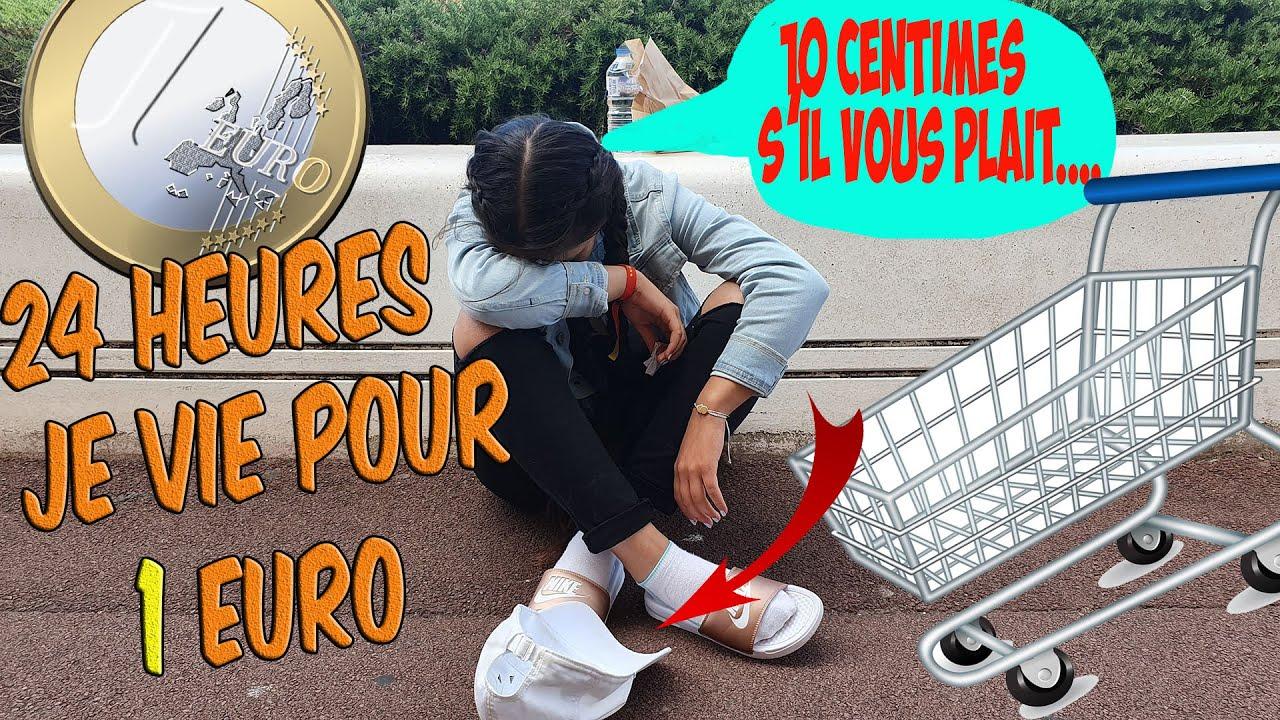 Download #1//  J'ESSAIE DE VIVRE POUR 1 EURO PENDANT 24 HEURES. 😰MLLE SABINA