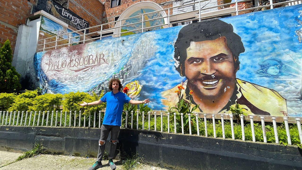 Así es el barrio de PABLO ESCOBAR: ¿idolatran al personaje? | Colombia 🇨🇴