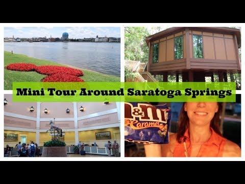 Mini Tour Around Saratoga Springs Resort -  Golf Course, Pools and Treehouse Villas