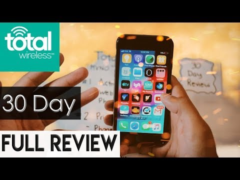 Total wireless 30 Day Review || The Best Prepaid Service?