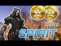 Overwatch - SPIRIT's Reaper Killing It on Temple of Anubis + FACE CAM STREAM  [SEASON 11]