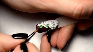 Лепка на ногтях акрилом МК от Анны Темченко