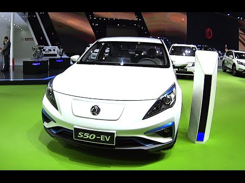 One more Chinese Electric vehicle, Dongfeng Goes S50 EV On The Beijing Auto Show