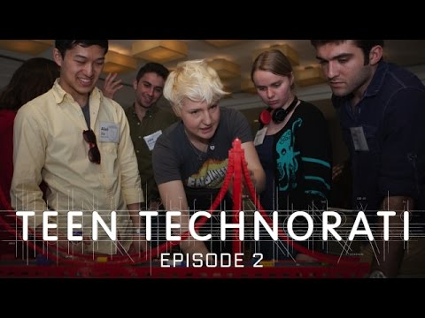 The LEGO Challenge: Creative Problem-Solving-Teen Technorati EP2 of 8-WIRED