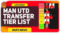 TIER LIST! Manchester United Transfers! Man Utd News