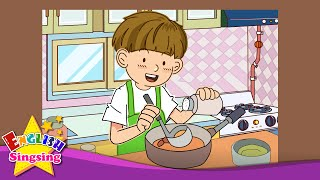 Скачать Where Are You In The Kitchen Bedroom In The House Education English Song For Kids With Lyrics