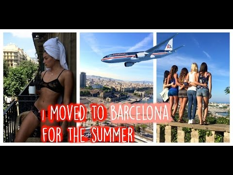 VLOG: I MOVED TO BARCELONA, SPAIN !!