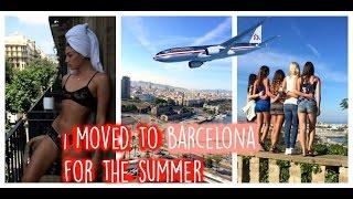 Vlog: i moved to barcelona, spain !!