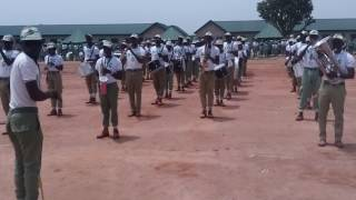 National to NYSC Anthem by Plateau Marshal band