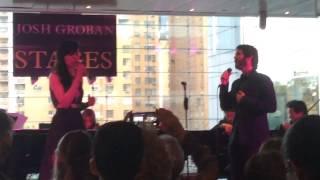 Josh Groban All I Ask Of You Columbus Circle NYC 04282015