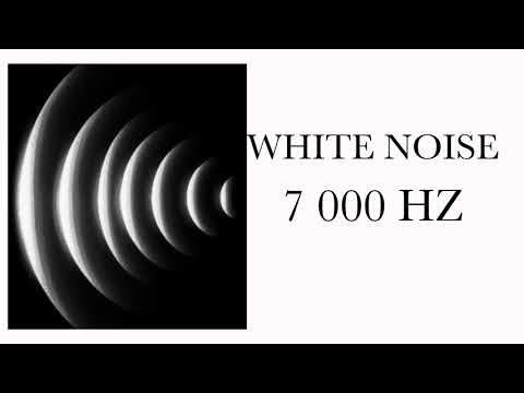 White noise for Tinnitus relief at 7000 hz