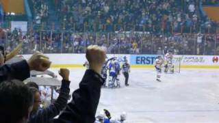 Medvescak-Graz 99ers, QF of EBEL league, 4th game, Zagreb, 28.2.2010