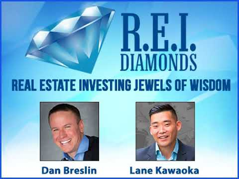 REI Diamonds Show with Lane Kawaoka on Syndicating Capital for Apartment Complex Deals