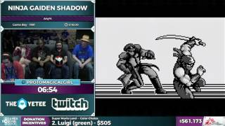 Ninja Gaiden Shadow by Protomagicalgirl in 13:34 - SGDQ 2016 - Part 143