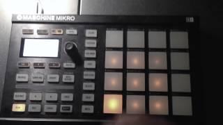 Wet Dreamz Beat Remake on Maschine Mirko