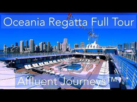 Oceania Regatta Full Tour