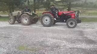 Traktör çekişmeleri Bozok 255T vs Deutz 55