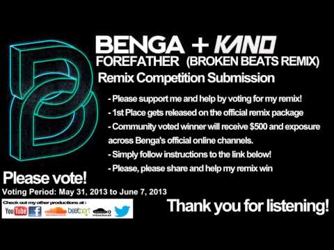 Benga and Kano - Forefather (Broken Beats Remix)