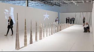 SOM Exhibits 30 Structural Skeleton Models Showing Evolution of Tall Building Design (4K)