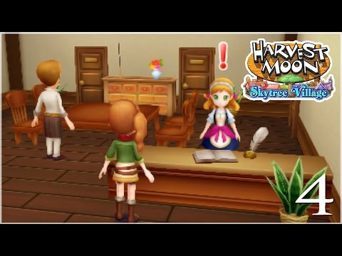 The Wandering Culinary Artists! • Harvest Moon: Skytree Village - Episode #4