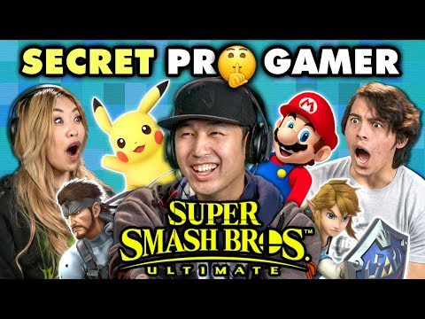 Professional Smash Bros Player DESTROYS Gamers (React) thumbnail