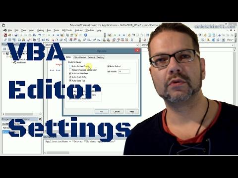 Better VBA video series - Codekabinett