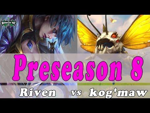 Levo Riven vs kog'maw  ,Janna Top - Best Riven Plays - league of legends