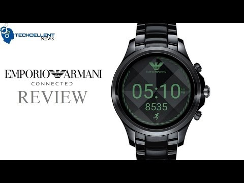 EMPORIO ARMANI ANDROID WEAR CONNECTED SMARTWATCH REVIEW