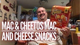 Mac & Cheetos Macaroni and Cheese Snacks (2018) | As Good As Burger King's?