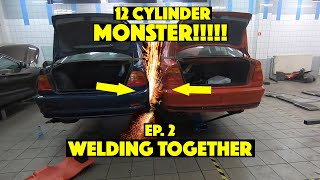 "The Ultimate Tandem Machine | Ep. 2: ""Welding together"""