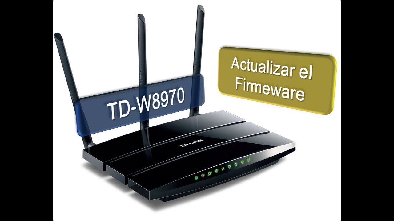 actualizar firmware tp link tl-wr840n