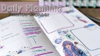 Daily Planning // Passion Planner // Plan With Me // bujo