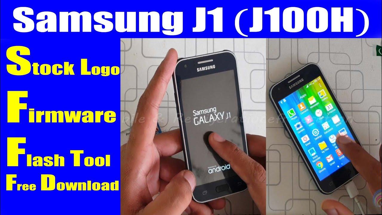 Samsung J1 (J100H) Stock On Logo Fix Firmware Flash File | Urdu Hindi