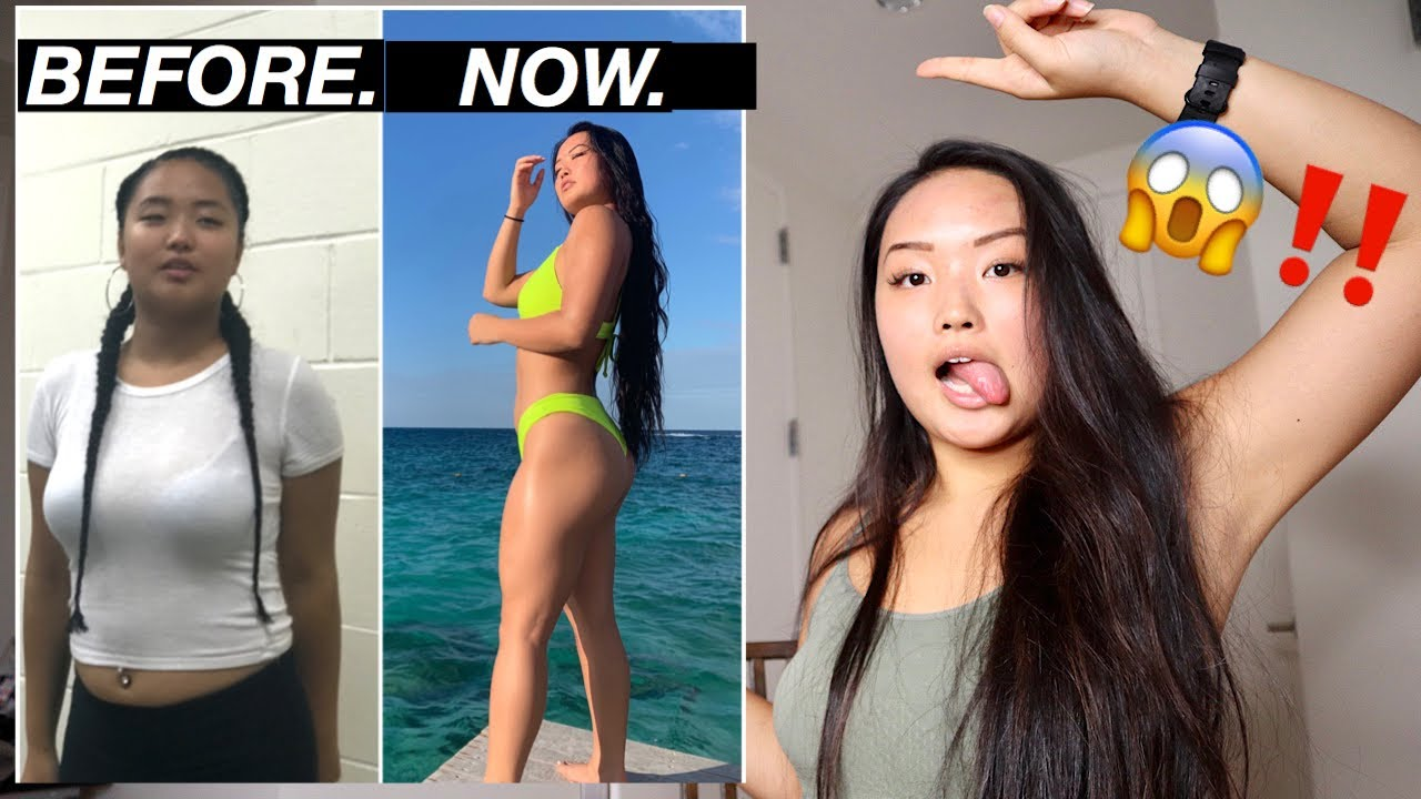 MY 1 YEAR BODY TRANSFORMATION | my story + REAL motivation, tips, and advice