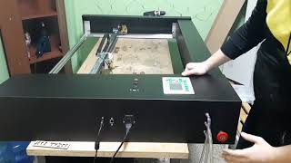 LaserBot 900 короткий обзор лазерного СО2 резака